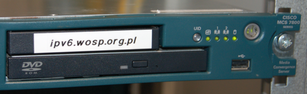 MCS handling IPv6 for WOŚP